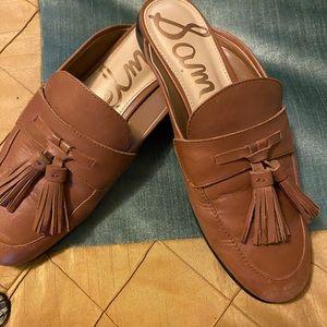 Sam Edelman Leather Mules